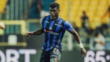 Willy Ta Ba, milieu défensif de l'Atalanta Bergame