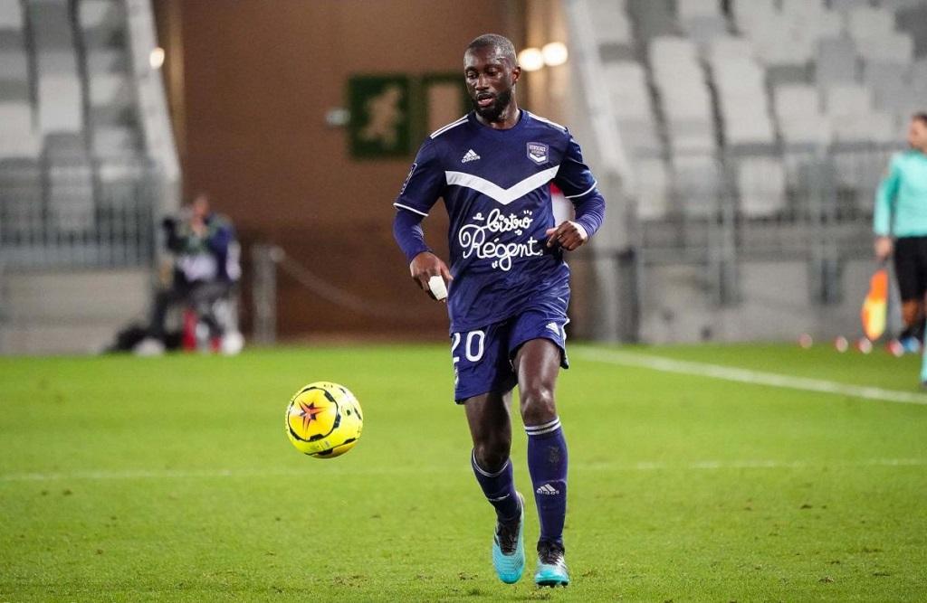 Youssouf Sabaly (Bordeaux) absent entre 3 et 4 semaines.