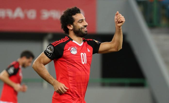 Salah marque deux buts contre les Comores