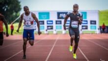 Akani Simbine-100m-9s99-Pretoria