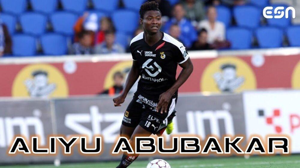 Aliyu Abubakar à Zhetysu