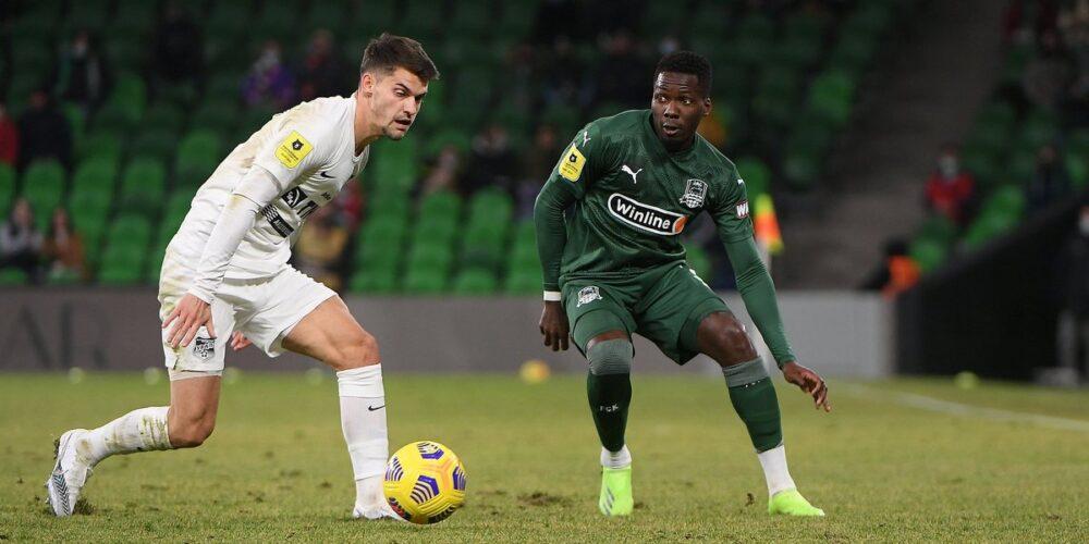 Oyongo se blesse dès son premier match avec Krasnodar