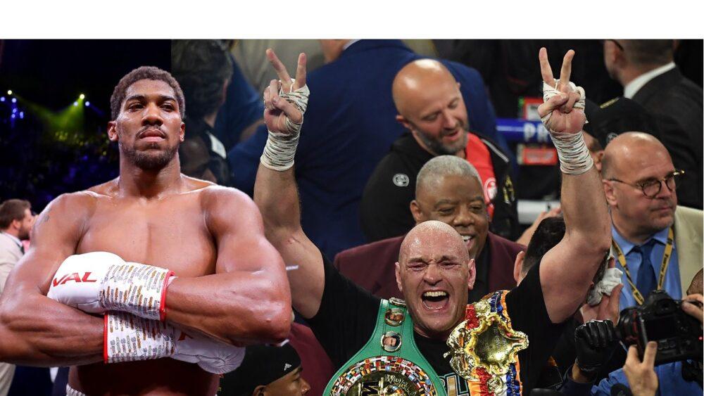 Anthony Joshua - Tyson Fury, le combat matérialisé à 200 millions de livres sterling