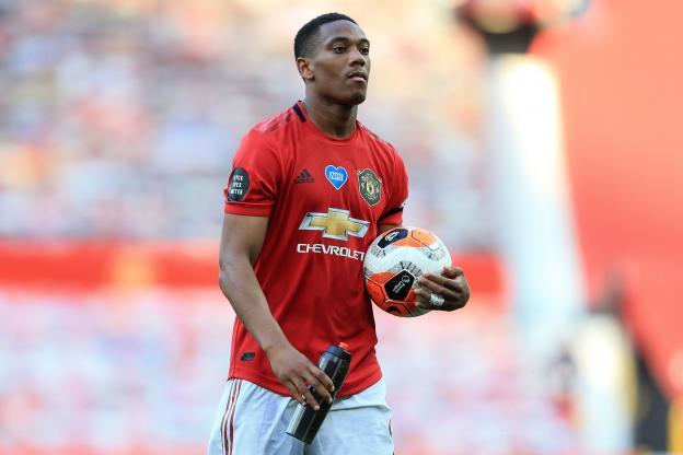 Manchester United fixe le prix de Martial à 45 millions d'euros