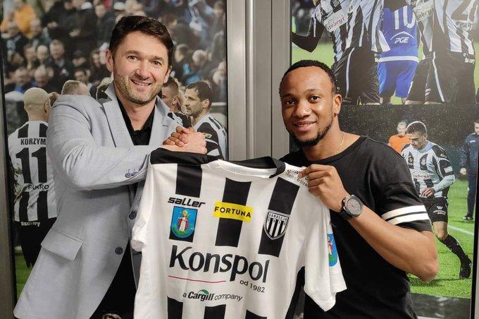Formé à Eto'o Acamedy et passé par le Barça, Armand Ken Ella évolue désormais en Pologne
