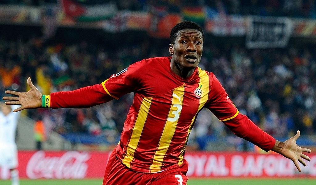 Asamoah Gyan buteur contre... les Black Stars