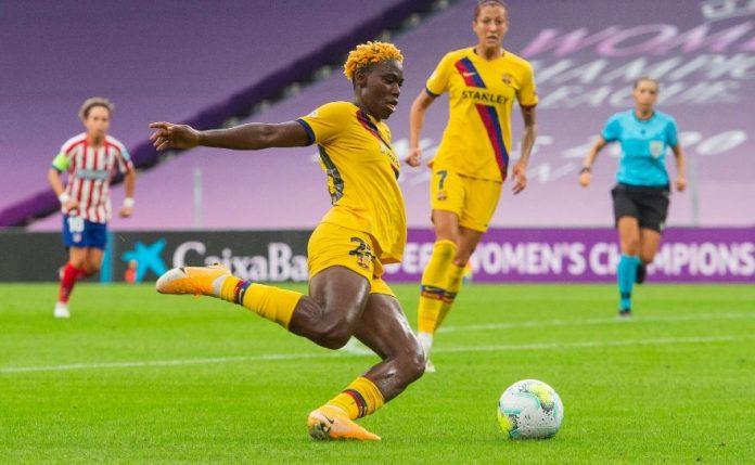 Asisat Oshoala sera l'attraction africaine des 8es de finale de la Ligue des champions