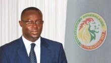 Augustin Senghor, président de la Fédé sénégalaise de football