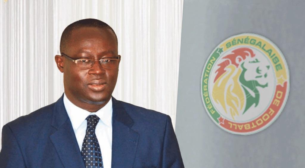 Augustin Senghor, président de la Fédé sénégalaise de football.