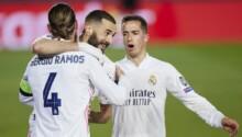 Benzema, Ramos et Vasquez savourent le retour du Real Madrid en quart de finale.