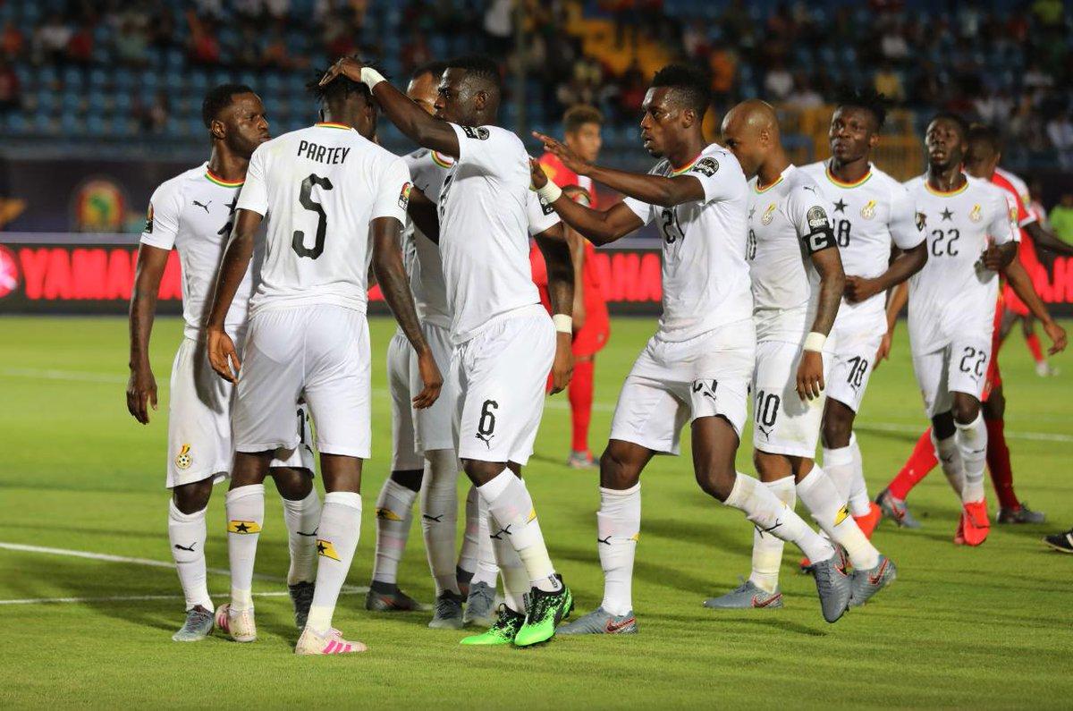 Ghana affronte l'Afrique du Sud