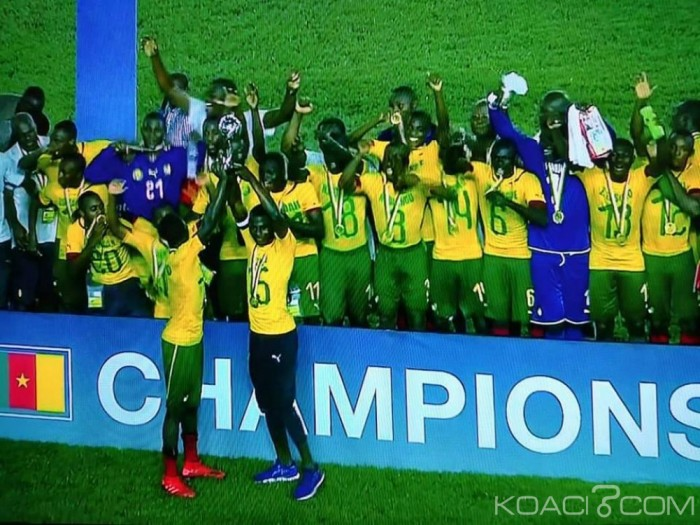 Cameroun, vainqueur de la CAN U17 en 2019