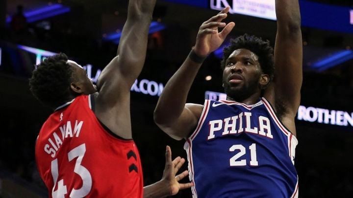 Lazare Adingono veut convaincre les deux stars africaines de la NBA Embiid et Siakam d'adhérer à son projet.