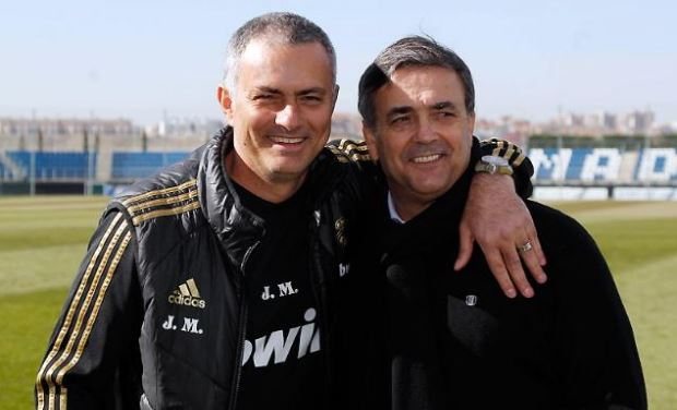 Formosinho avec Mourinho au Real Madrid