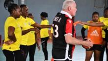 Le handball féminin guinéen rêve grand
