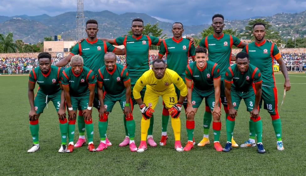 La sélection de football du Burundi