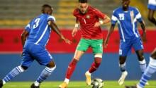 Hakim Ziyech impérial face à la RCA, battue deux fois par le Maroc.