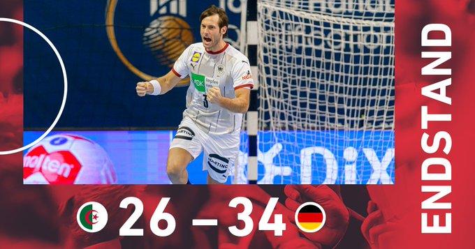 Handball l'Algérie perd contre l'Allemagne