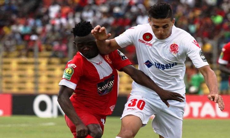 Horoya AC battu 0-2 à Casa par le Wydad