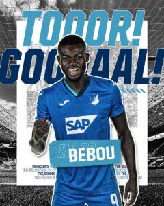 Ihlas Bebou-Hoffenheim-Togo-Bundesliga
