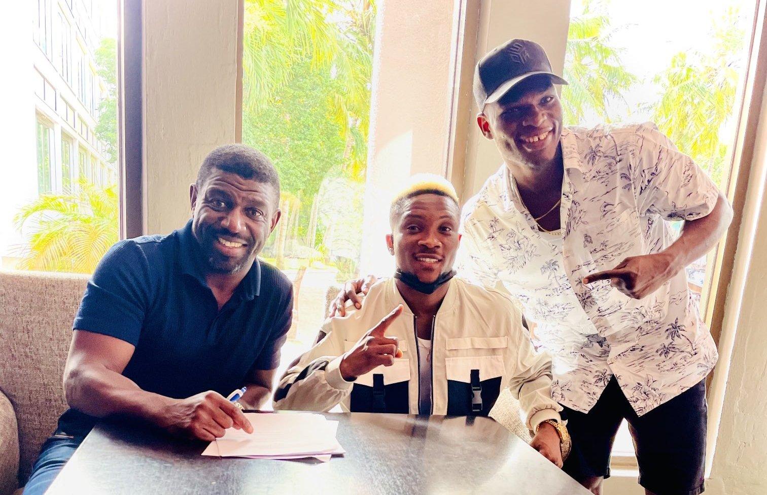 Joshua Wahab signe un pacte promotionnel avec Lou DiBella