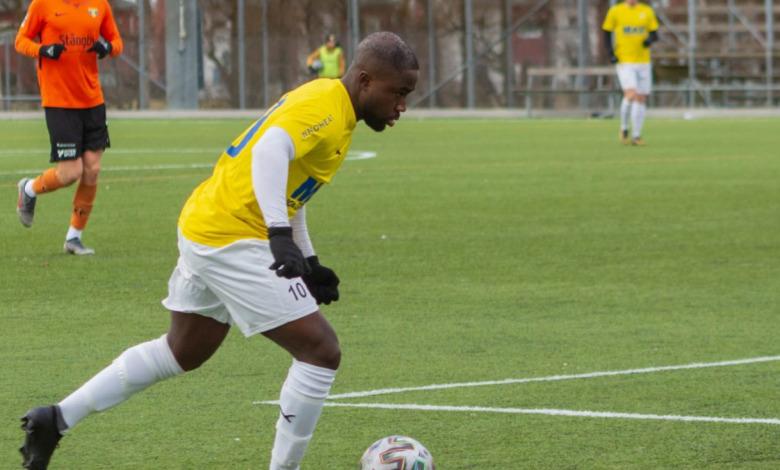 Kofi Yeboah ailier Malmö, Suède