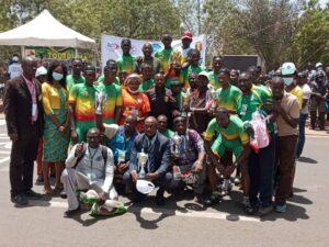 La photos de famille des équipes maliennes.