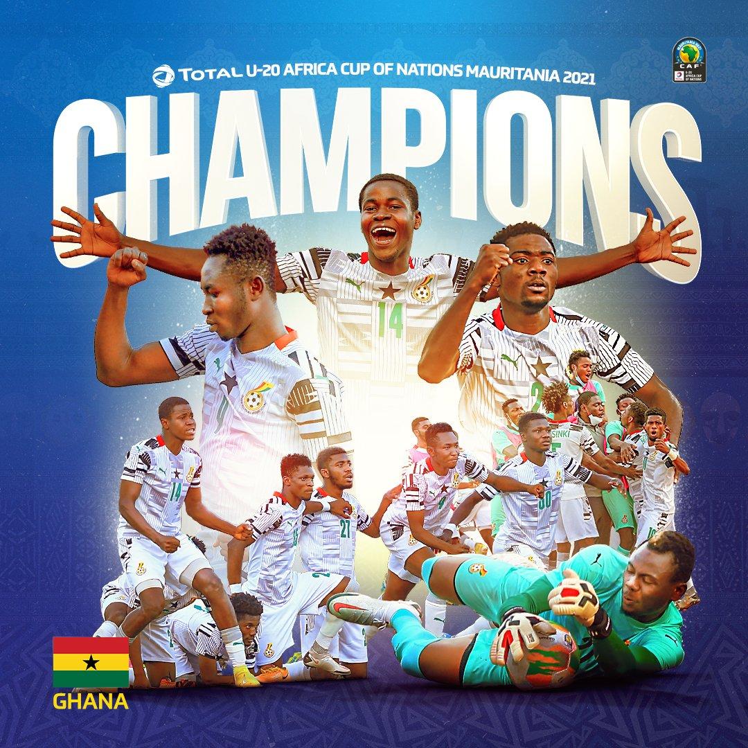 Le Ghana champion d'Afrique U20 devant l'Ouganda