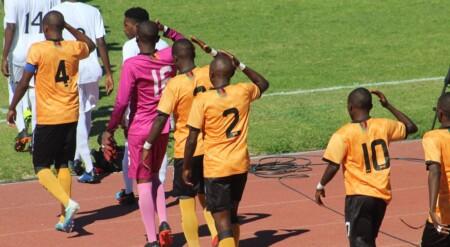 L'équipe U17 de la Zambie.
