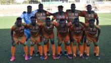 L'équipe burkinabé de Salitas FC.