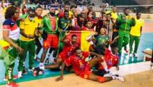 L'équipe nationale U19 du Cameroun.