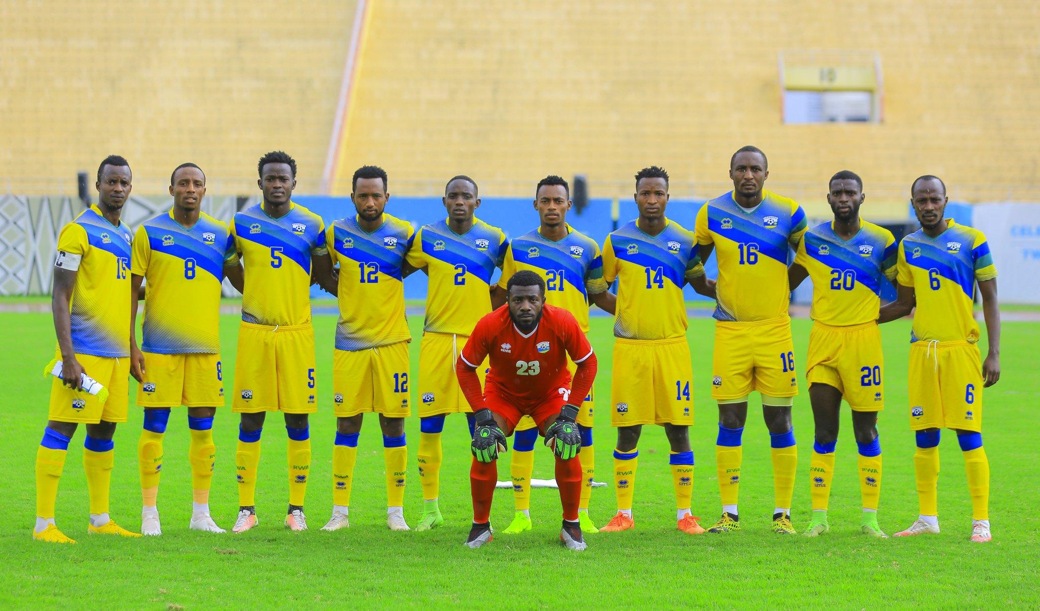 Les Amavubi du Rwanda se préparent pour les éliminatoires de la CAN 2021