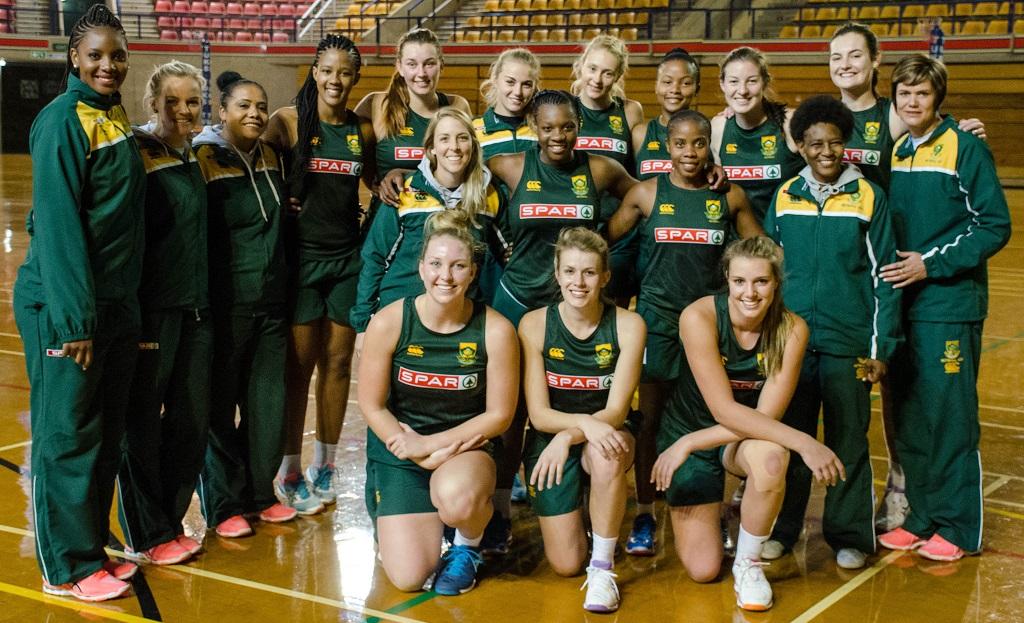 Les Baby Proteas du Netball sud-africain.