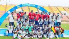 Les Black Satellites, champions d'Afrique U20.