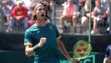Lloyd Harris-ATP Dubai-Dominic Thiem-Afrique du Sud