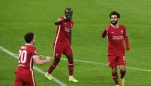 Mané et Salah qualifient Liverpool pour les quarts de finale de la Champions League.