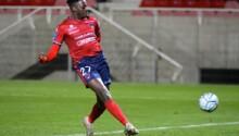 Mohamed Bayo, élu Joueur du mois de février de Ligue 2