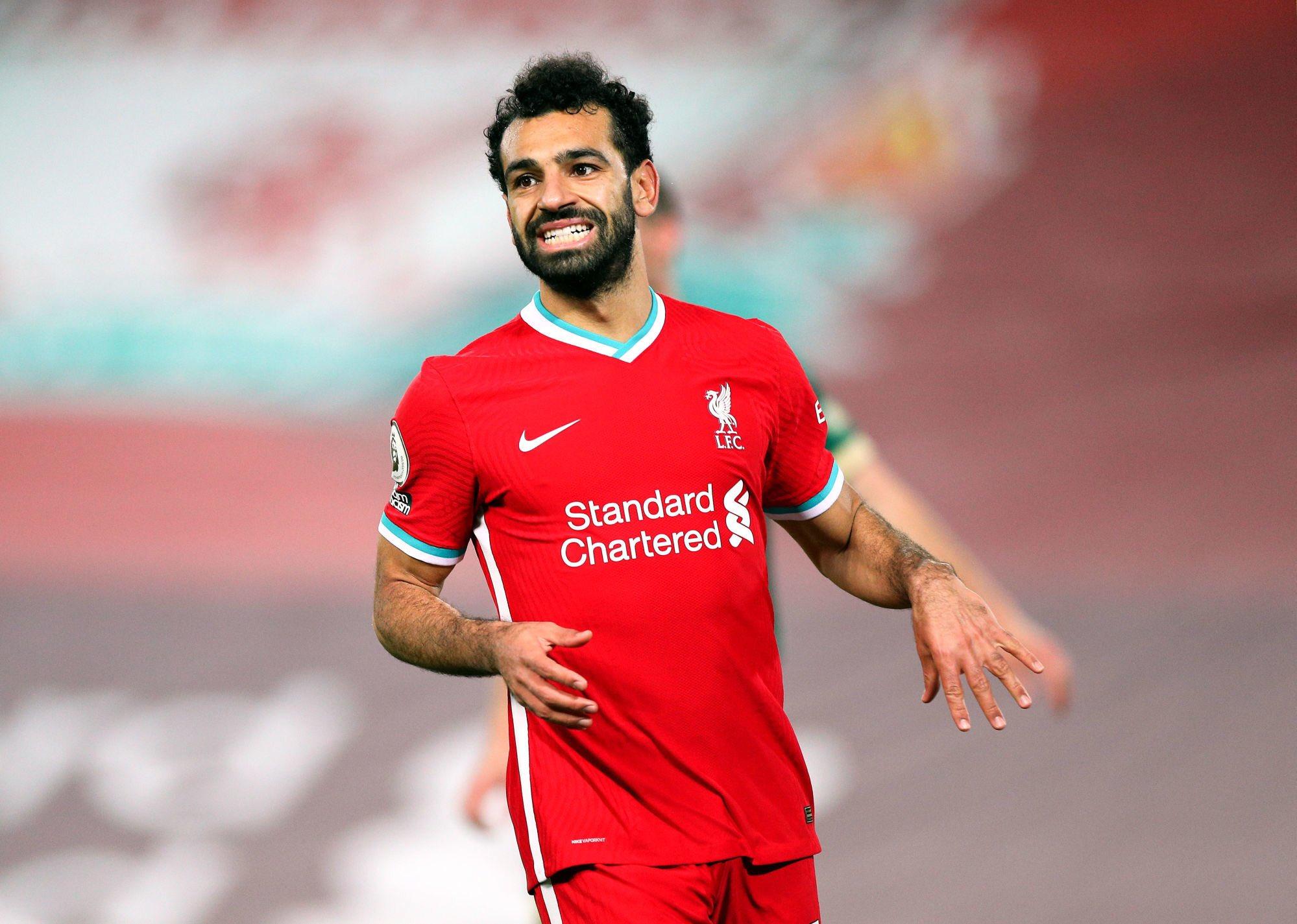 Mohamed Salah n'a pas paru content en cédant sa place contre Chelsea