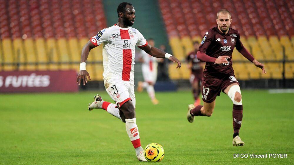Moussa Konaté marque mais Dijon coule devant Bordeaux