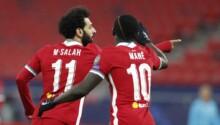 Sadio Mané et Mohamed Salah