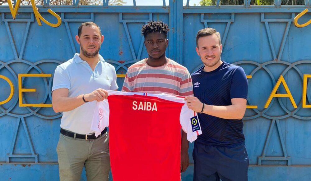 Le Malien Saiba Dabo présenté par le Stade de Reims