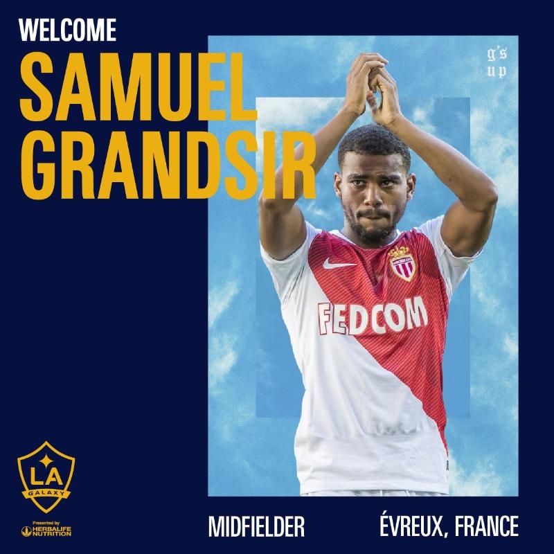 Samuel Grandsir-Monaco-LA Galaxy-Sénégal