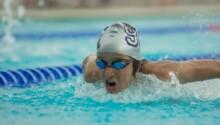 Samy Boutouil, un nouveau record national pour le nageur marocain.