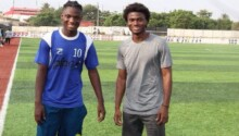 Great Olympics seals signing of sons of Ghanaian legends