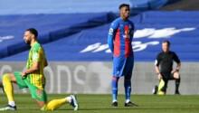 Wilfried Zaha refuse de s'agenouiller avant le coup d'envoi de Crystal Palace-West Brom