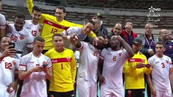 Wydad Smara, champion du Maroc de handball