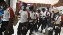 Local Black Stars arrive in Uzbekistan ahead of friendly