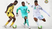 Three U20 AFCON players progress to Ghana's senior team
