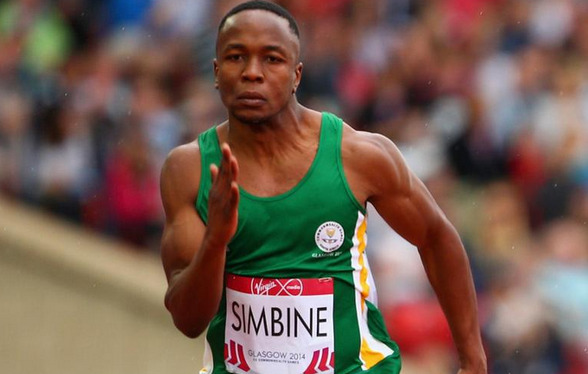Akani Simbine, record d'Afrique 100m