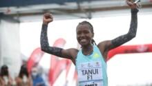 Angela Tanui, vainqueur marathon de Sienne